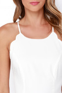 Play On Curves Ivory Backless Dress 5
