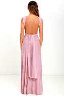 LULUS Exclusive Tricks of the Trade Mauve Maxi Dress 5