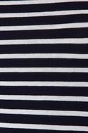 Billabong Last Minute Navy Blue Striped Dress 6