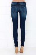 Blank NYC Skinny Classique Distressed Dark Blue Skinny Jeans 5