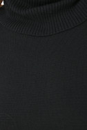 Comin' Up Cozy Black Turtleneck Sweater 6