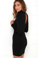 Grand Vizier Black Long Sleeve Dress 3
