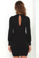 Grand Vizier Black Long Sleeve Dress 4