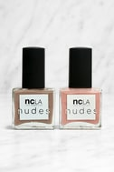 NCLA Match Made in Cali Neutral Nude Nail Lacquer Set 1