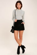 Anything is Posh-ible White Striped Top 2