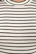 Anything is Posh-ible White Striped Top 6