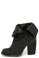 Sbicca Chord Black Fold-Over Boots 1
