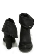 Sbicca Chord Black Fold-Over Boots 3
