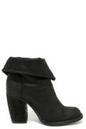 Sbicca Chord Black Fold-Over Boots 4