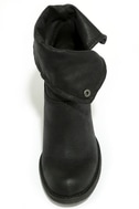 Sbicca Chord Black Fold-Over Boots 5