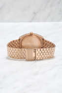 Nixon Time Teller Rose Gold Watch 4