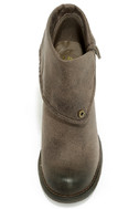 Sbicca Chord Taupe Fold-Over Boots 5