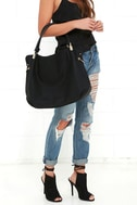 Ocean Cruise Black Handbag 2