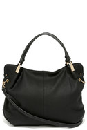 Ocean Cruise Black Handbag 3