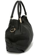 Ocean Cruise Black Handbag 4