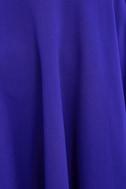 Forever Chic Royal Blue Long Sleeve Dress 6