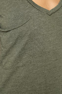 Z Supply Pleasant Surprise Olive Green Tee 6