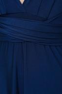 Always Stunning Convertible Navy Blue Maxi Dress 6