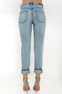 Blank NYC Thrifter Light Wash Distressed Boyfriend Jeans 5