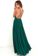 Mythical Kind of Love Dark Green Maxi Dress 3