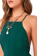 Mythical Kind of Love Dark Green Maxi Dress 5