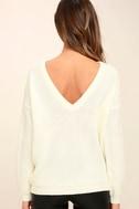 Island Ferry Cream Sweater 4