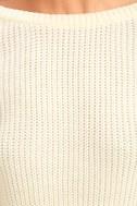 Island Ferry Cream Sweater 6