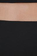 Sheer Leader Black Mesh Skater Dress 6