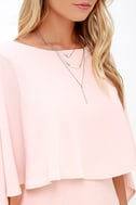 Best is Yet to Come Peach Backless Dress 6