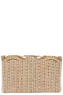 Constantinople Gold Beaded Clutch 5