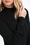 Midnight in Paris Black Long Sleeve Dress 5