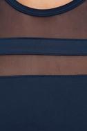 Final Stretch Navy Blue Dress 6
