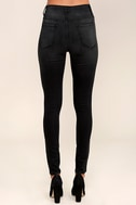 Hi There! Washed Black High-Waisted Skinny Jeans 4