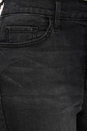Hi There! Washed Black High-Waisted Skinny Jeans 6