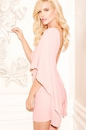Best is Yet to Come Peach Backless Dress 1