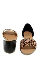 Atlantic Seaboard Leopard Peep Toe Flats 3