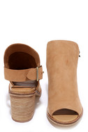 Chinese Laundry Caleb Natural Suede Leather Ankle Booties 3