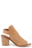 Chinese Laundry Caleb Natural Suede Leather Ankle Booties 4