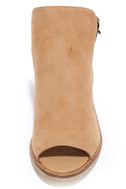 Chinese Laundry Caleb Natural Suede Leather Ankle Booties 5
