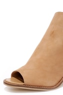 Chinese Laundry Caleb Natural Suede Leather Ankle Booties 6