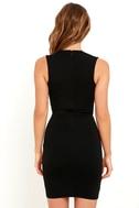 Cocktail Hour Black Wrap Dress 4