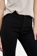 Practice Makes Perfect Black High-Waisted Skinny Jeans 7