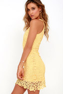 Love Poem Yellow Lace Dress 3