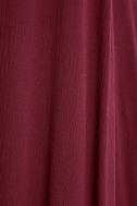 Yours Tule Burgundy Maxi Dress 6