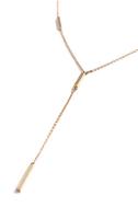 Raise the Bars Gold Drop Necklace 3