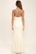 Zenith Cream Lace Maxi Dress 6