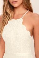 Zenith Cream Lace Maxi Dress 7