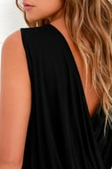 Tango Twist Black Sleeveless Top 5