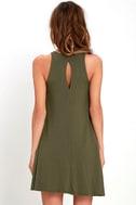 Tupelo Honey Olive Green Dress 4