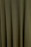 Tupelo Honey Olive Green Dress 6